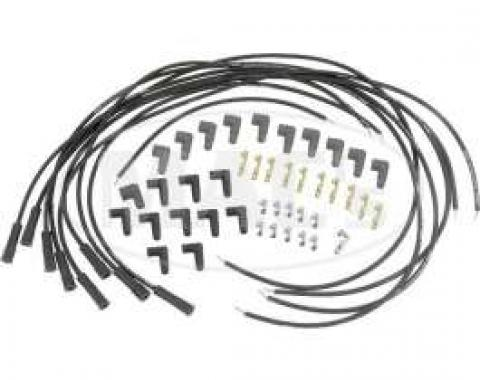 Ignition Wires-Black 8mm Magx2-V8