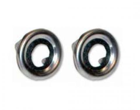Door Lock Button Grommet - Stainless Steel