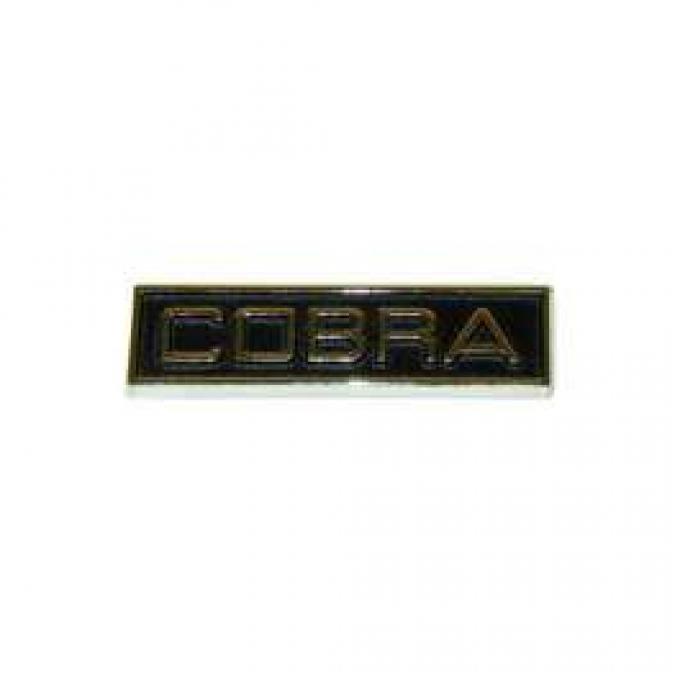Cobra Nameplate