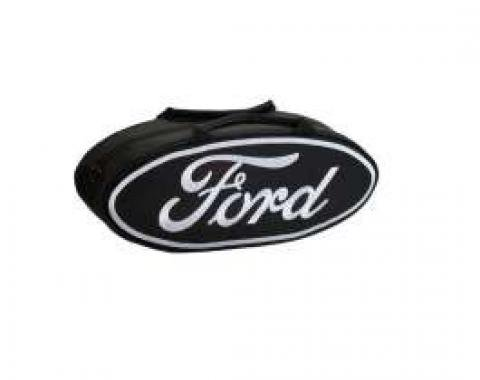GoBox - Canvas - Black Nylon/Polyester With A White Ford Logo