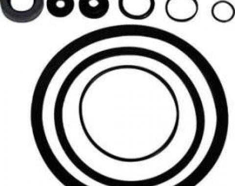 Power Steering Pump Seal Kit - For Eaton Pump - 12 pieces