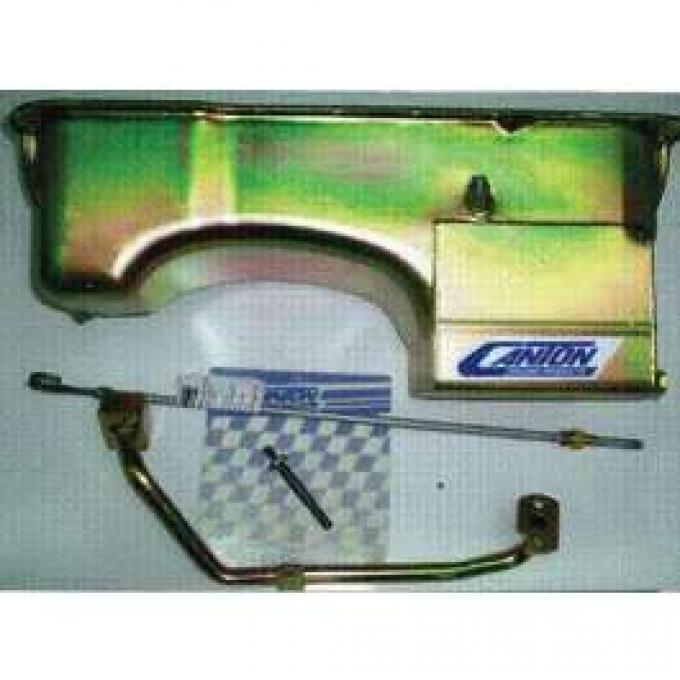7 Qt. Small Block Double Hump Oil Pan Kit