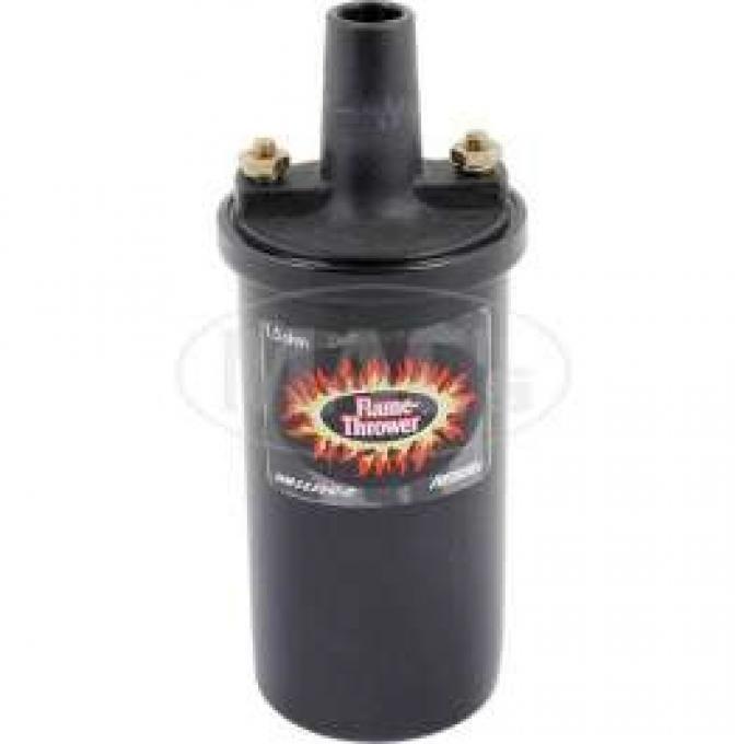 Flame Thrower Ignition Coil - 12 Volt - Black - V8