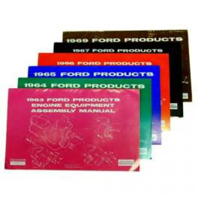 Ford Products Engine Equipment Assembly Manual - 157 Pages