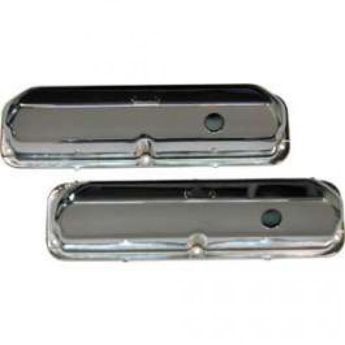 Valve Covers-427 Pent Roof (With Breather)