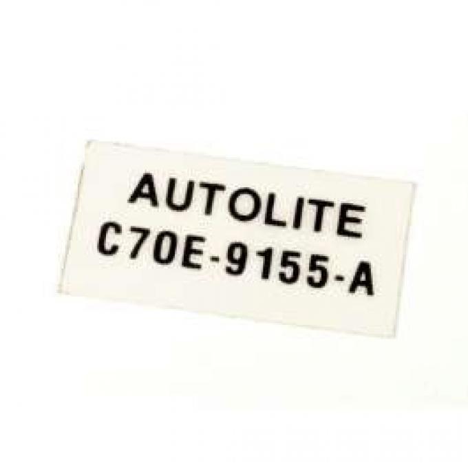 Decal - Autolite