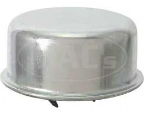 Oil Filler Cap - Push-On Type - Plain Steel- Replacement Type