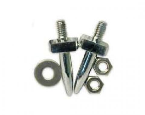 Convertible Top Guide Pins - Chrome