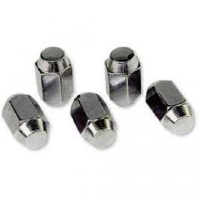 Lug Nut - Chrome - For Styled Steel Wheels - 1/2 20
