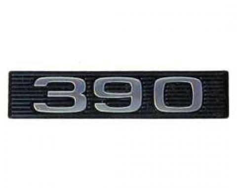 Hood Emblem Insert, 390, Fairlane, Ranchero, Torino, 1969