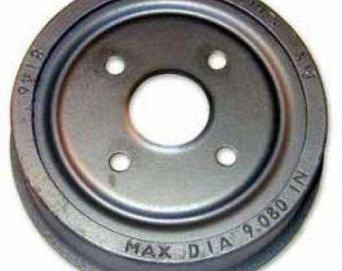 Brake Drum - 9 Diameter - 4 Lug Wheel
