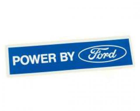 Decal - Valve Cover - Powered By Ford - White