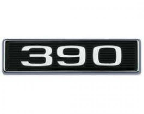 390 Hood Scoop Emblem - Correct Die-Cast