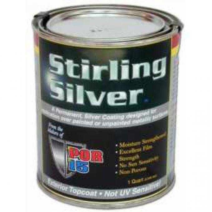 POR-15 Rust Preventive Paint - Silver - 1 Quart