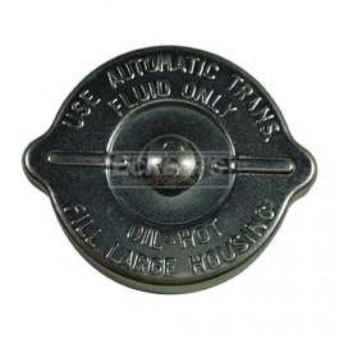 Power Steering Pump Cap - Zinc Plated - No Dipstick