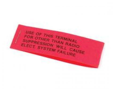 Tag - Voltage Regulator Warning