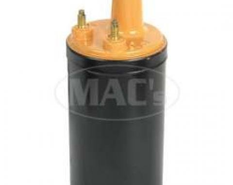 Ignition Coil - 12 Volt - Black Body - Mustard Top