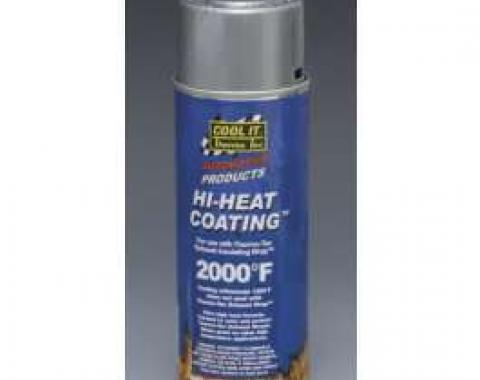 Thermo-Tec Hi-Heat Exhaust Wrap Coating, Aluminum