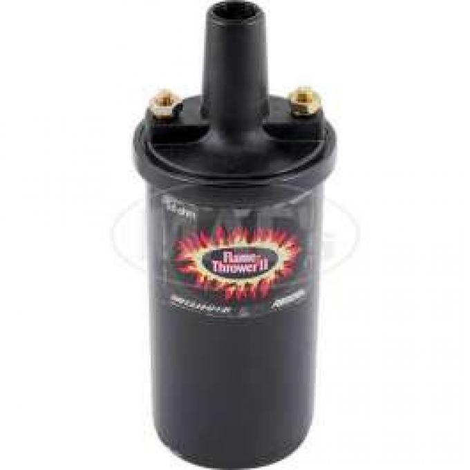 Flame Thrower II Ignition Coil - 6 or 12 Volt - Black - V8
