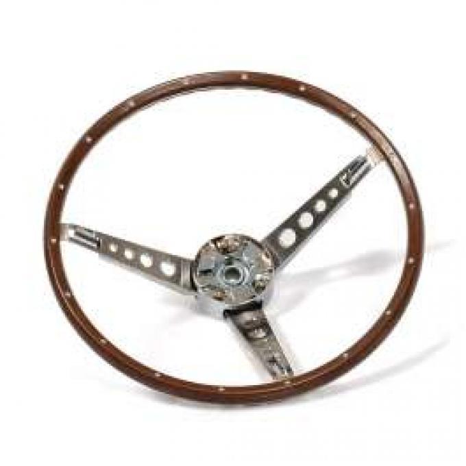 Steering Wheel - Simulated Wood - 3-Spoke
