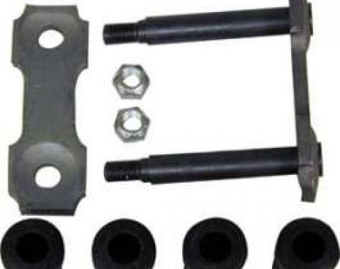 Leaf Spring Shackle Kit - Rear of Leaf