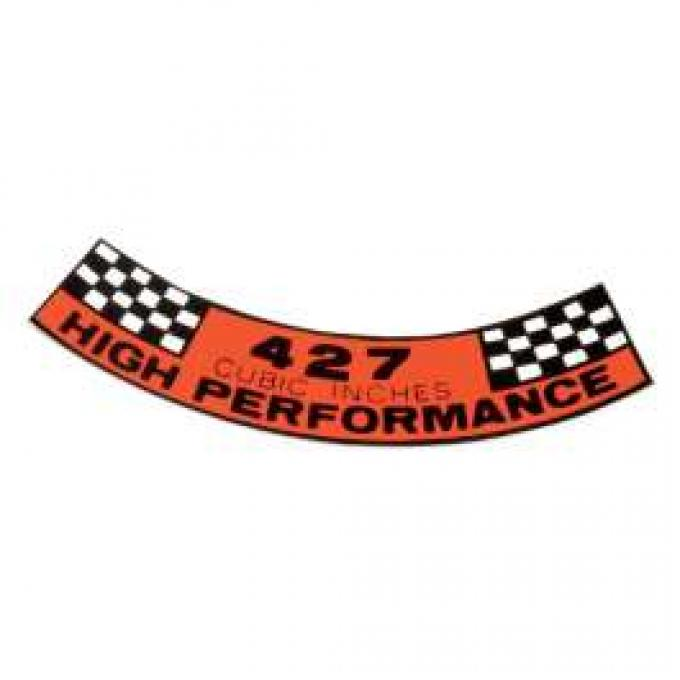 Air Cleaner Decal - 427 High Performance