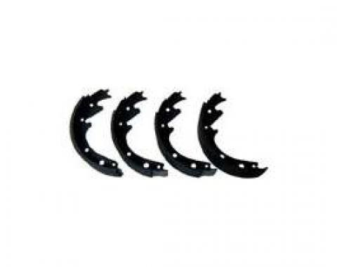 Relined Brake Shoe Set - Rear - 9 X 1 1/2