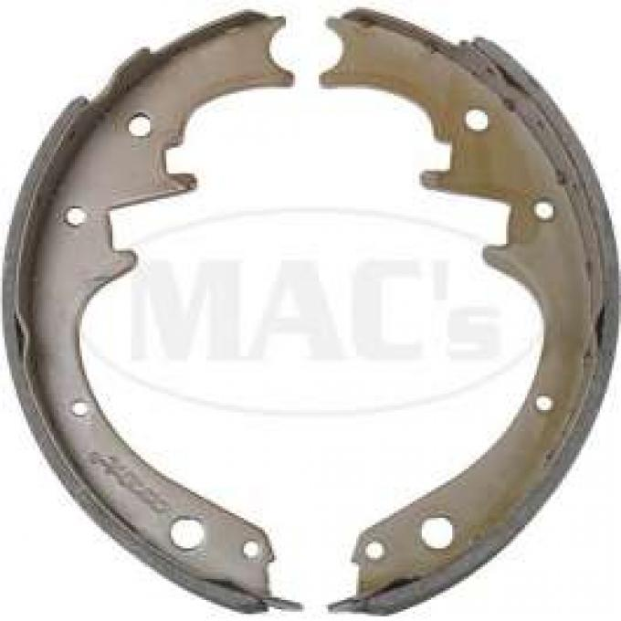 Brake Shoes - Front - 10 x 2 1/4 - Relined - Bonded Linings