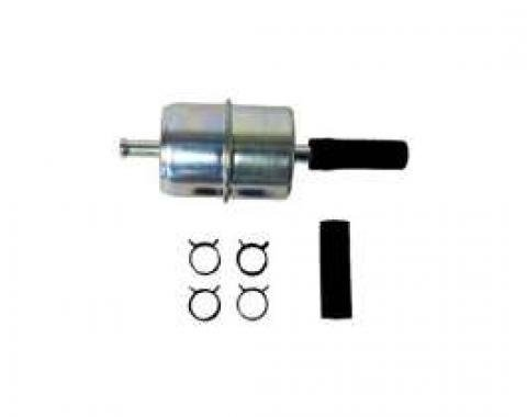 Fuel Pump Filter - Metal - Inline Type - Hastings Brand