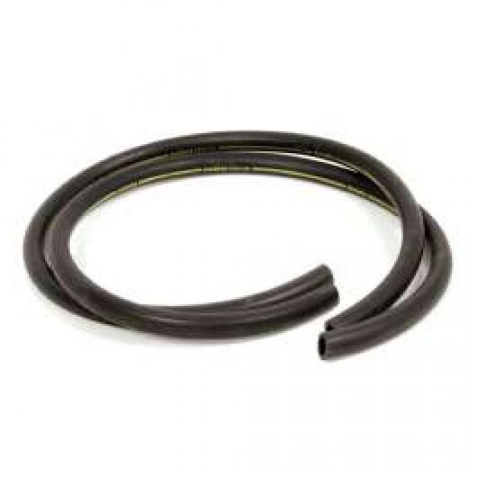 Heater Hose Set - Exact Reproduction - 2 Pieces - Yellow Stripe - For Cars Without Air Conditioning - From 2-1-1970