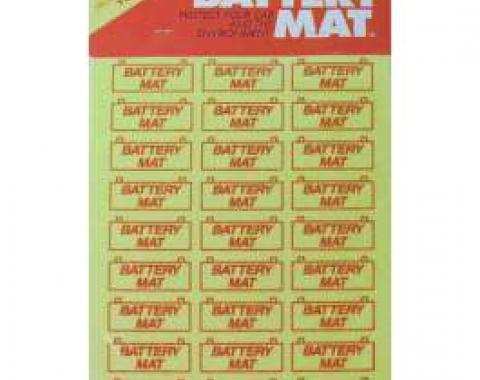 Battery Mat - 8 X 12 - Trim To Fit