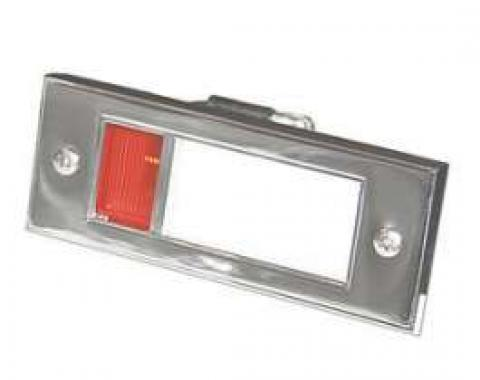 Door Courtesy Light Assembly - Includes Red and White Lenses - With Wiring
