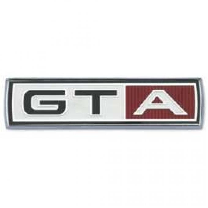 GTA Fender Emblem - Chrome with Embossed Emblem