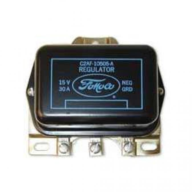 Voltage Regulator - Autolite - Black With Yellow Lettering