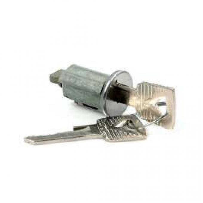 Ignition Switch Key Cylinder - With Two Keys