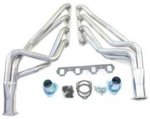 Exhaust Headers - Coated - 1-5/8 Pipes - 3 Collectors - 260 Or 289 Or 302 Or 351W V8