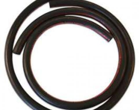 Heater Hose Set - Exact Reproduction - 2 Pieces - Red Stripe - For Cars Without Air Conditioning - Before 2-1-1970