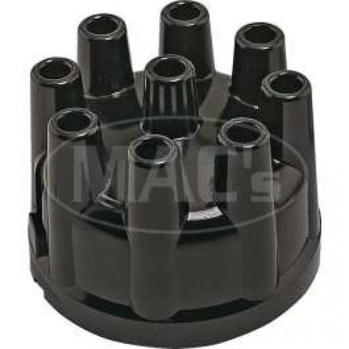Distributor Cap - Aluminum Contacts - Black