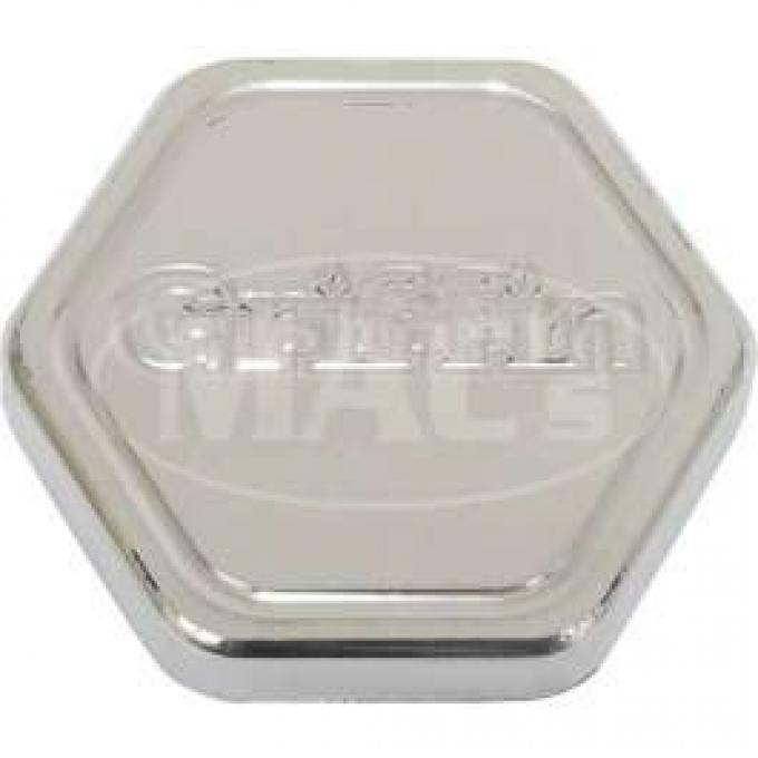 Polished Griffin Radiator Cap (17 Lb.)