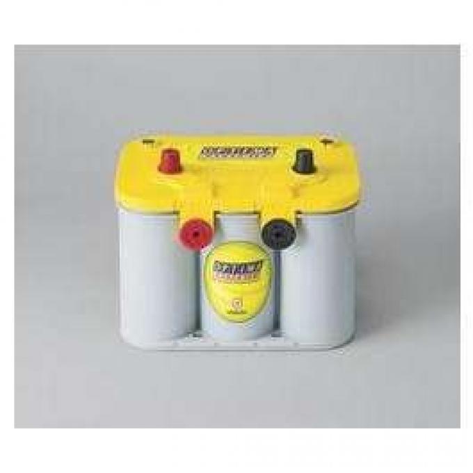 OPTIMA? Battery, Heavy-Duty, Yellow Top, Top Post, 12 Volt