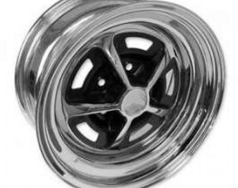 Wheel - Magnum 500 - Chrome With Black Center - 14 X 7