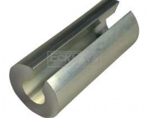 Alternator Spacer - Silver Finish - 2.25 Long