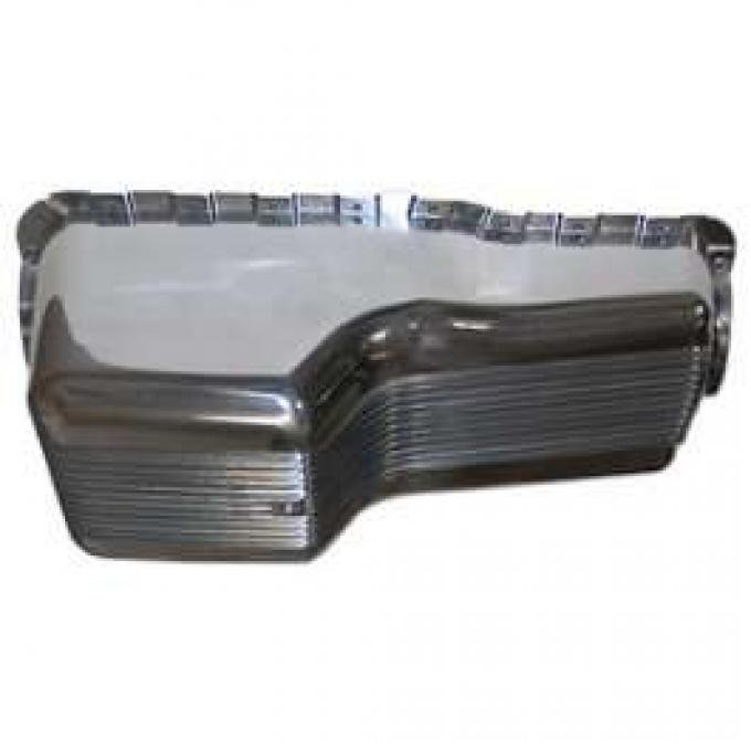 Cal Custom Oil Pan - Pressure Die-Cast - Finned Aluminum