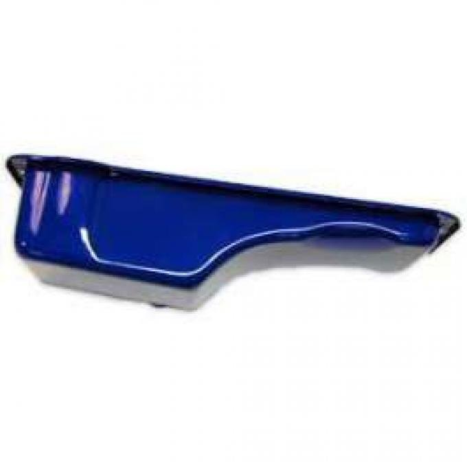 Oil Pan - Painted Blue