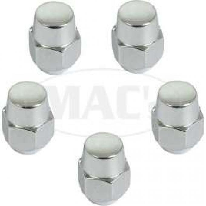 Lug Nuts, Styled Steel Wheel, Set Of 5, Fairlane, Falcon, Ranchero, Torino, Comet, Montego, 1966-1969