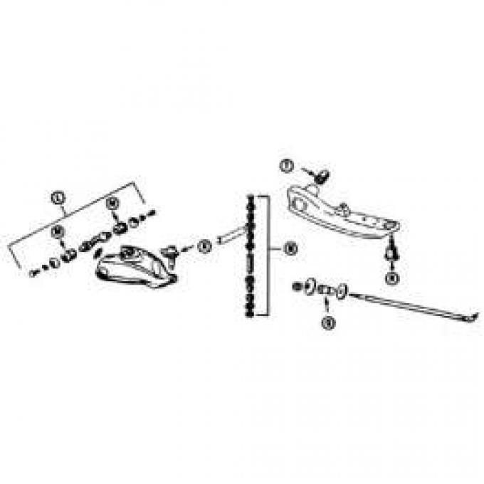 Lower Control Arm Bushing - Rubber