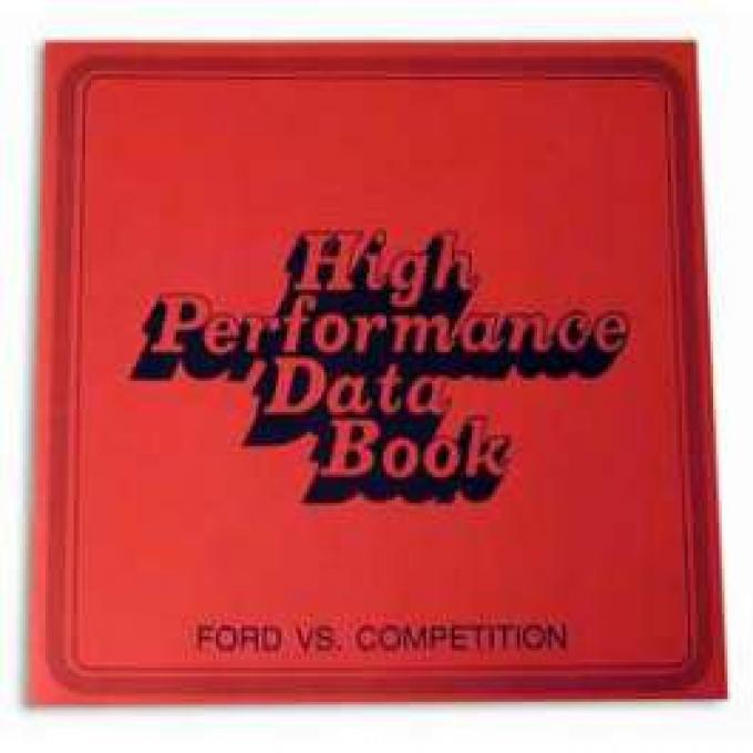 High Performance Data Book