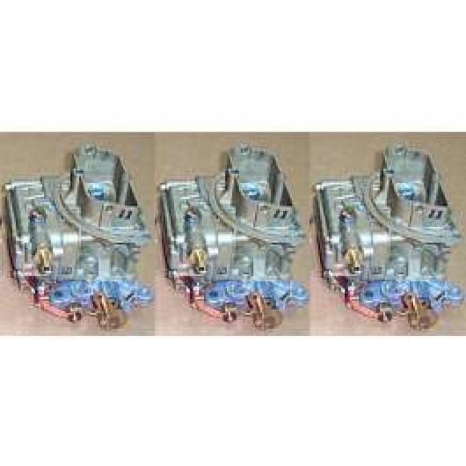 Carburetors, 390, 406, Tri Power, 1957-1979
