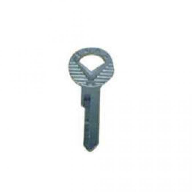 Trunk and Glove Box Key Blank - Single Sided - Exact Reproduction