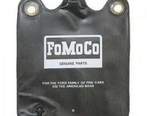 Windshield Washer Bag - FoMoCo Lettering - With Hinged Flip Cap